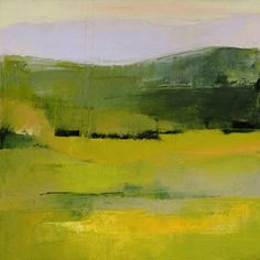 The Green Mountains #2 / acrylic on canvas/ by IRMA CERESE