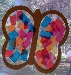 Insects Theme for Preschool/Daycare | Butterfly Suncatcher