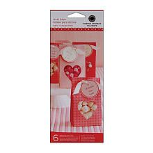 Your child's friends will love receiving Valentine's Day treats in these festive bags