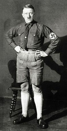 Las vergonzosas fotos que Hitler intentó ocultar del mundo por 70 años   La Tercera