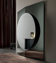 Modern Design Wall Mirror Composed of 3 Panels Made in Italy - Bristol Lane Furniture, Art Deco Furniture, Luxury Furniture, Furniture Design, Luxury Interior, Interior Styling, Interior Decorating, Modern Floor Mirrors, Wall Design