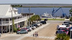 Downtown Apalachicola   Colin Hackley – Fresh seafood makes a very short trip from boat to plate in Apalachicola.
