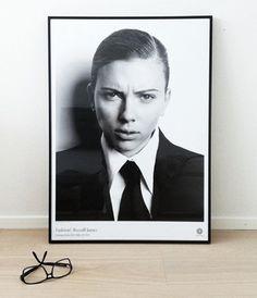 Scarlett Johansson - very cool pic, she's fierce