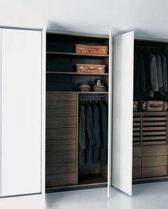 Modern wardrobe dreaming ~ designer, location & photographer unknown