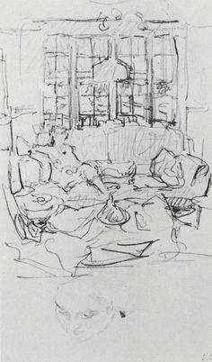 The Interiors of Edouard Vuillard | Drawing OWU