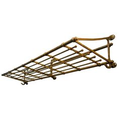 Antique Railroad Luggage Rack Artifacts Luggage Rack