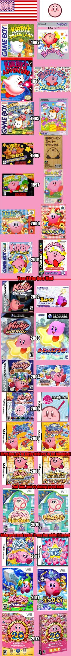After 9/11 Kirby becomes strangely angry on American boxart