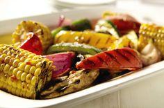 Mediterranean Grilled Vegetables Recipe - Kraft Recipes