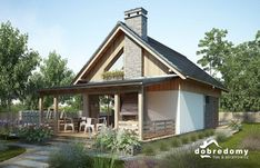 Tiny House Cabin, Village Houses, Facade House, Town And Country, Cottage Homes, Home Fashion, Modern Rustic, Home Projects, House Plans