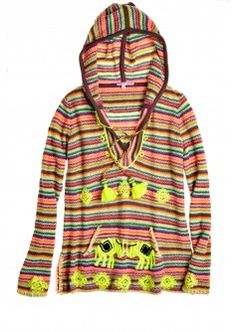 Kynthia Hand Embroidered Cashmere Hoodie