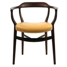 NV44 Chair in wenge and natural leather, OneCollection. Finn Juhl.