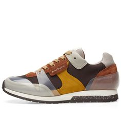 Buy the Acne Studios Jimmy Label Sneaker in Brown from leading mens fashion retailer END. - only Fast shipping on all latest Acne Studios products Sneakers Mode, Brown Sneakers, Casual Sneakers, Casual Shoes, Mens Fashion Shoes, Nike Fashion, Sneakers Fashion, London Fashion, Shoes