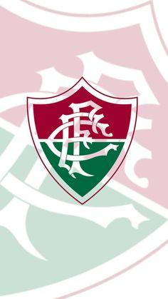 Wallpaper para celular, papel de parede, Fluminense, tricolor carioca, futebol, time, simples, clean, claro, feito no pixlr.