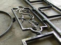 the making of tirol wrought iron sign