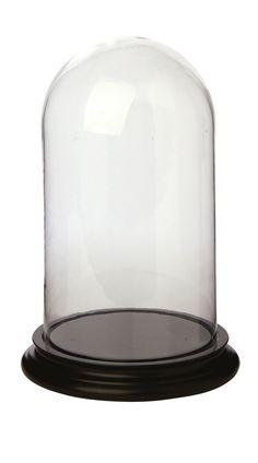 Glashaube mit Boden Gr. M ø 20, H 30 cm