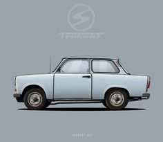 """Trabant 601 - """"Racing Cardboard"""""""