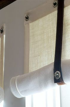 Image detail for -... nautical inspired accents, like these window shades that Suzanne