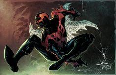 SPIDER-MAN 2099 FINE ART PRINT BY PHILIP TAN