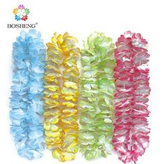 BOSHENG Colorful Luau Flower Leis Necklaces for Tropical Island Beach Theme Party Event, Birthday Supplies, Costume,Set of 4 BOSHENG http://www.amazon.com/dp/B01E6EPZVO/ref=cm_sw_r_pi_dp_7Wzdxb1F43TFC