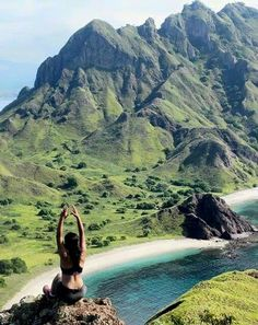 Padar Island, Komodo National Park. Indonesia.