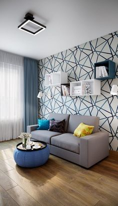 Interior Living Room Design Trends for 2019 - Interior Design Classy Living Room, Living Room Grey, Living Room Decor, Living Rooms, Small Apartment Interior, Interior Design Living Room, Living Room Designs, Home Curtains, Home Room Design
