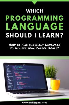 How can you know which programming language you should learn first (or next)? Check out these helpful and easy tips for finding the right language to help you achieve your goals with coding and web development. Learn Computer Science, Computer Coding, Computer Technology, Medical Technology, Energy Technology, Technology Gadgets, Computer Programming Languages, Coding Languages, Learn Programming