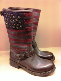 USA flag and studs biker boots « Ibiza Trendy | Moda, tiendas y gente de Ibiza | Fashion, shops and people from Ibiza