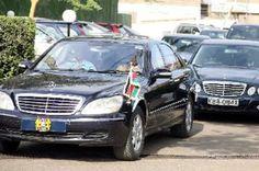 Kenyan Presidential Motorcade