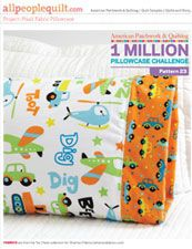 Free download - Basic Pillowcase created with Plush Fabric.