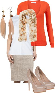 """""""Work Outfit"""" by karina11387 on Polyvore"""