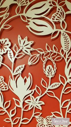 Laser Cut Metal Wall Panels The Installation