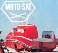 1969 MOTO SKI Snow Vehicles, Vintage Sled, Snow Machine, Snowmobiles, Atv, Skiing, Track, Bike, Classic