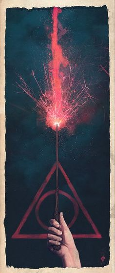 Harry potter. Like this pic.It's very powerful :)