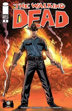 Walking Dead #1  Wizard OHIO Comic Con VARIANT MIKE ZECK NM/M 9.8 AMC TV KIRKMAN
