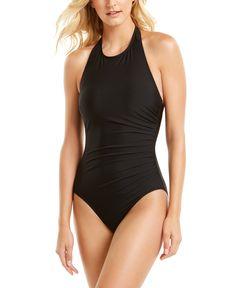 One Piece Swimsuit Slimming, Halter One Piece Swimsuit, Swimsuit Cover Ups, Black Swimsuit, Affordable Swimsuits, Best Swimsuits, Women Swimsuits, French Women Style, Swim Dress