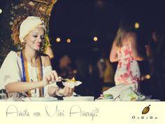 Cai bem em qualquer ocasião! #baianas #bahia #trancoso #cacau #ocacau #buffet #eventos #festas #casamentosemtrancoso