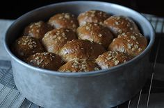 Heavenly Oatmeal-Molasses Rolls ~ Can do partly ahead & refrigerate overnight before baking.