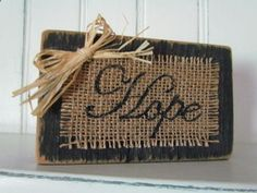 Small Distressed Wood Sign Painted Black by creativelychristel, $7.00