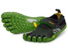 """Vibram FiveFingers - SPYRIDON The Spyridon offers the same great minimalist trail running experience as the Spyridon LS, providing the perfect balance of """"foot feel"""" and protection on rugged terrain."""