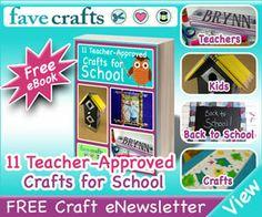 Free Crafts for School eBook!!!