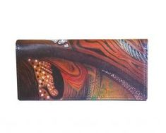 Ručne-maľovaná-peňaženka-7757-s-motívom-žena-Abstrakt Wallet, Abstract, Purses, Diy Wallet, Purse