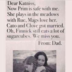 How dare you so this? Wait Cato and Clove are in heaven what da fudge? lol