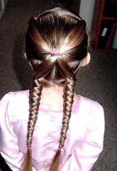 Little Girl's Hairstyles: Cute and easy braid hairdo 7-10 min961 x 1401 | 319.7 KB | shaunellshair.blogspot.com