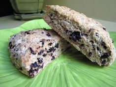 whole wheat deliciousness in a scone with blackberries.