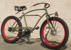 Custom bicycles Beach Cruiser Bikes, Cruiser Bicycle, Bicycle Race, Beach Cruisers, Cool Bicycles, Cool Bikes, Trike Scooter, Chopper Bike, Fixed Bike