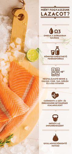 Tudtad, hogy a lazac az egyik legértékesebb omega-3 forrás? Kattints a képre a további érdekességekért! #TescoMagyarország #lazac Cantaloupe, Lose Weight, Fruit, Health, Food, Health Care, Eten, Healthy, Meals