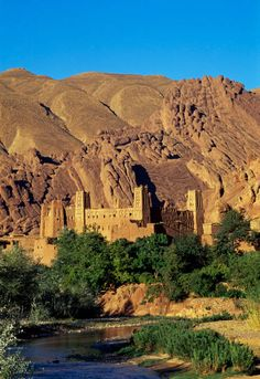 Dades Valley between the Jebel Sarhro and the High Atlas Mountains.  A most spectacular scenery!