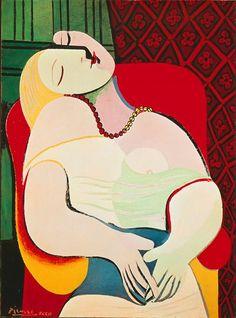Le Rêve, 1932 via The Battle for Picasso's Multi-Billion-Dollar Empire - vanityfair