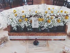 Vintage Themed Wedding Billy Balls and Baby's Breath ::The Vines Flower & Garden Shop