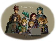 Golden Sun, Alter Ego, Legend Of Zelda, Videogames, Nintendo, Fanart, Geek Stuff, Fandoms, Memes